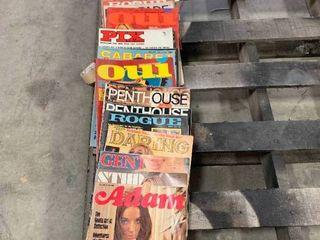 Large Lot of Vintage Misc. Men's Magazines