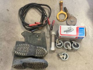 Trailer Coupler, Casters, Jumper Cable, Boots