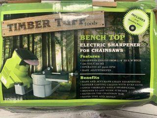 Bench Top Chainsaw Chain Sharpener