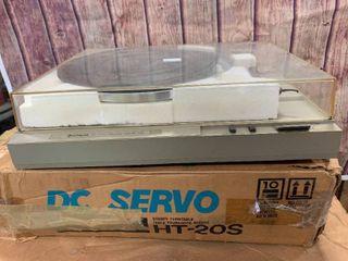 Hitachi HT-20S Turntable Record Player in Original Box
