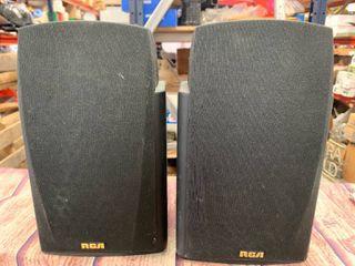 2 RCA 40-5037 Heavy Bookshelf Speakers (sold on Ebay for $88)