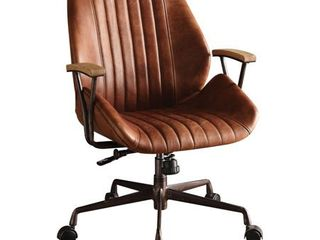 ACME Hamilton Executive Office Chair  Cocoa Top Grain leather Retail 463 49