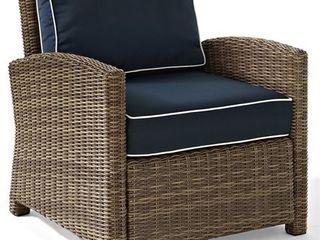 Bradenton Outdoor Wicker Arm Chair w  Cushions