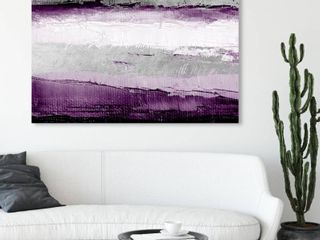 Oliver Gal Abstract Wall Art Canvas Prints  Envision and Elevate Violet
