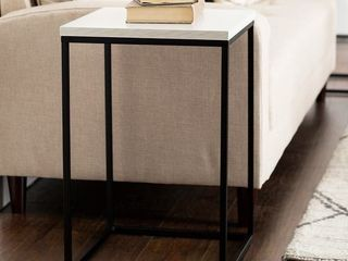 Carbon loft Geller Square Modern Side Table