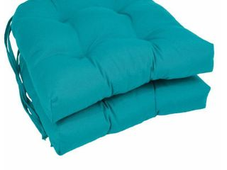 Indoor Outdoor O linen Seat Cushions   Set of 2