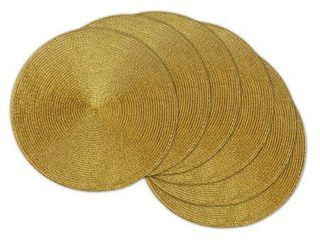 Gold Metallic Placemat Set 15   6