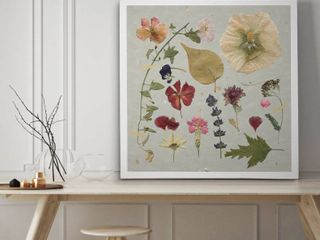 Pressed Assortment I   Premium Gallery Wall Art