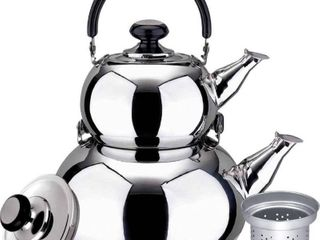 Turkish Doubke Tea Kettle Pot