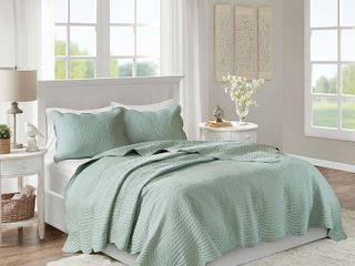 Madison Park Tuscany 3 Pc  Full Queen Coverlet Set