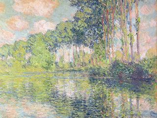 24  Monet  Poplars On The Epte  Canvas Art