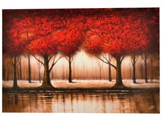 Copper Grove Cibola  Parade of the Red Trees  Canvas Art