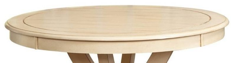 Simple living Vintner Country Style Round Dining Table   Top Only