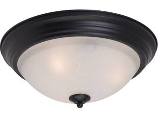 Maxim lighting Essentials 2 light Ice Shade
