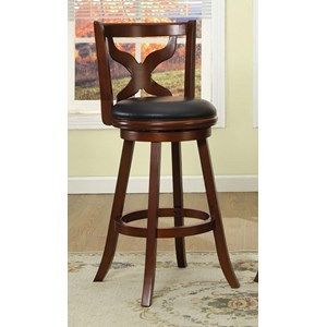 Furniture of America 360 degree 29  Swivel Barstool
