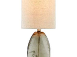 Adesso Vintage Farmhouse Hammered Glass Desk lamp