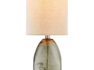 Adesso Vintage Farmhouse Hammered Glass Desk lamp