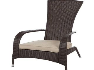 Coconino Wicker Chair w  Arm Rest