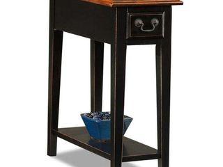 KD Furnishings Ash Oak Veneers Chairside Table Retail 115 49