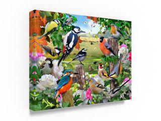 Howard Robinson  Colorful Birds    Canvas Art