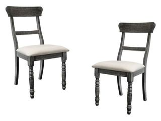 Best Master Furniture Selena Dining Chairs   Set of 2