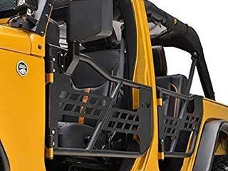 EAG Safari Tubular Doors with Mirror for 07 18 Jeep Wrangler JK 4 Door Only