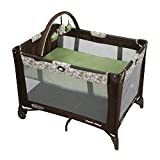 Graco Pack  n Play On the Go Playard   Includes Full Size Infant Bassinet  Push Button Compact Fold  Zuba