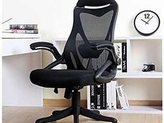 Ergonomic High Back Mesh Office Executive Desk Chair with Adjustable Headrest  Arms  and lumbar Support