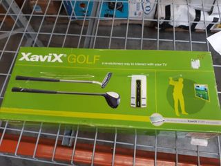 Xavix Golf Interactive   Wireless Video Game W cartridge Port Sealed Brand