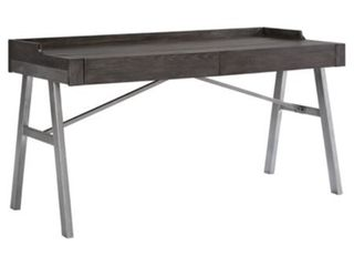 Signature Design by Ashley Raventown Home Office Desk Grayish Brown