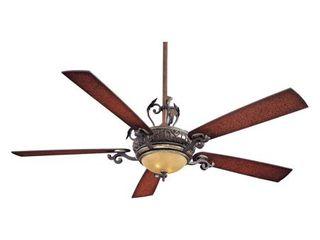 Minka Aire F715 STW Napoli II 68 in  Indoor Ceiling Fan   Sterling Walnut