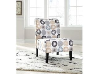 Triptis Accent Chair Gray Tan   Signature Design by Ashley
