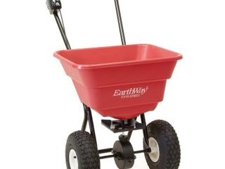 Earthway 2050P Estate 80 Pound Walk Behind Broadcast Spreader