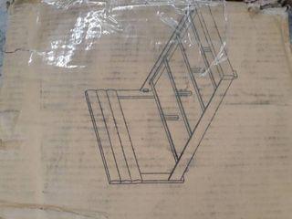 Padded White Bed Frame