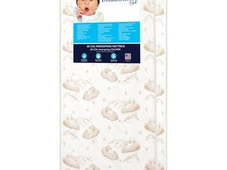 Dream On Me Twilight 5 in  80 Coil Spring Crib and Toddler Bed Mattress
