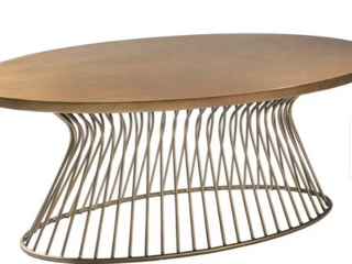 Carson Carrington Telsiai Bronze Coffee Table  Retail 298 99