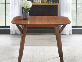 Vance Dining Table Walnut   Buylateral
