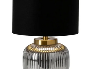 Addison 22 25  Glass Metal Table lamp
