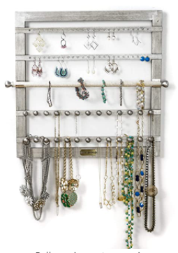 Hives and Honey Silertone Jewelry Frame