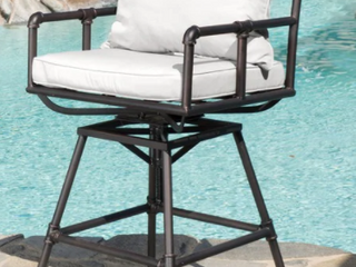Northrup pipe outdoor adjustable Barstool