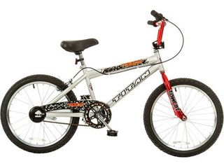 Kids Titan Tomcat 20  BMX Bike   Silver Red