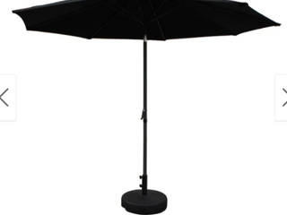 Nunam Iqua Aluminum 10 foot Patio Umbrella by Havenside Home Base NOT Included