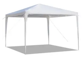 10x10ft Upgraded Outdoor Gazebos Wedding Party Canopy Tent