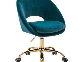 Savas Task Chair  Teal