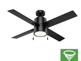 52in Beck Ceiling Fan in Matte Black