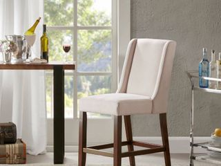 Madison Fark Victor Cream Wing Counter Stool