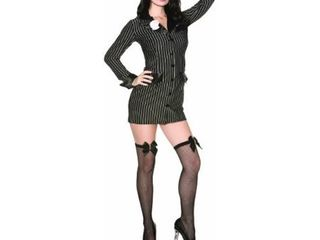 Delicious Allie Capone Costume  Black White  large