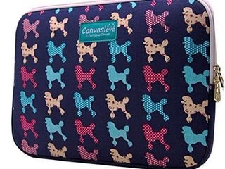 Canvaslove laptop Sleeve Blue Dog