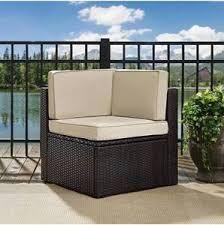brava acacia wood corner peice chair grey fishion dark grey cushion