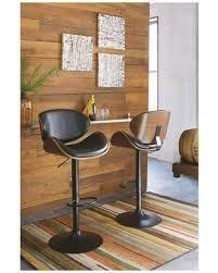 Strick & Bolton Harley Adjustable Height Matte Black Bar Stool- Retail:$115.99